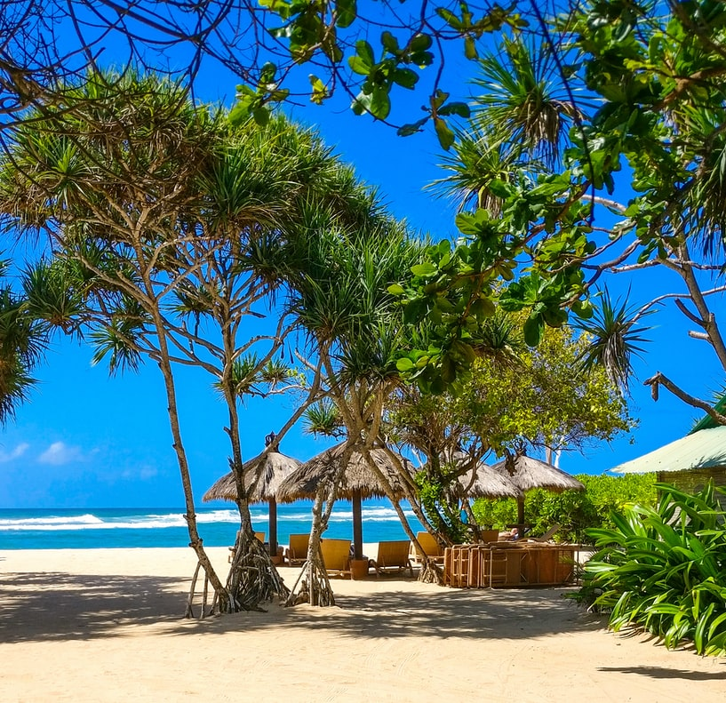 awesome beach of Bali. The pic tell us so much about the beauty of Bali