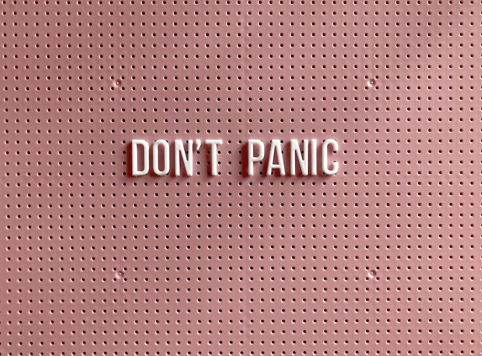 Do not panic and never focus what others are thinking about you.